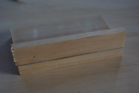 Wooden Side Pieces