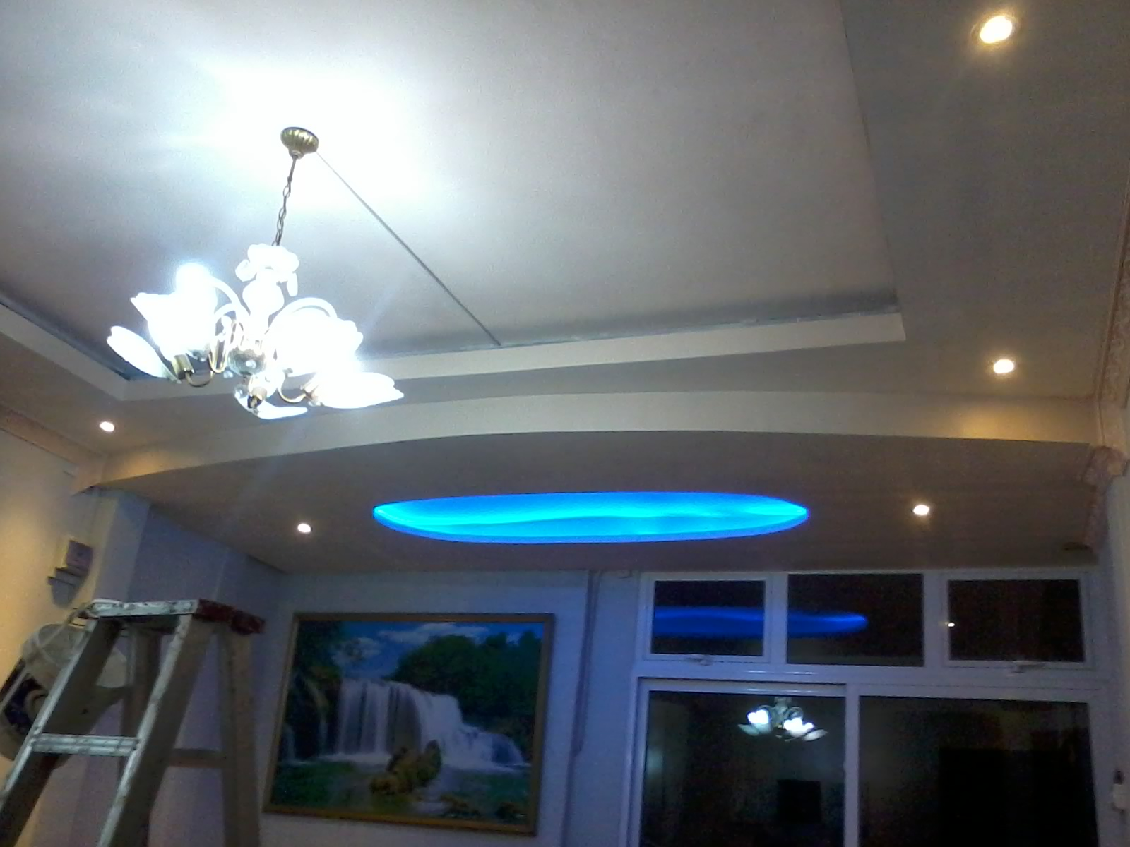 Picture of Painting and Adding the Led Ceiling Lights