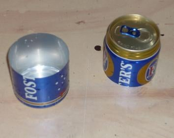 Marking & Cutting the Second Can
