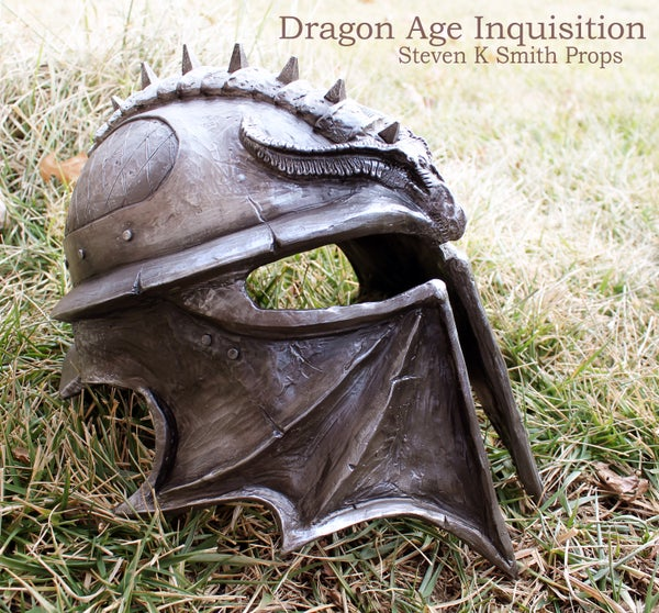Building a Full Scale Dragon Age Inquisition Helmet