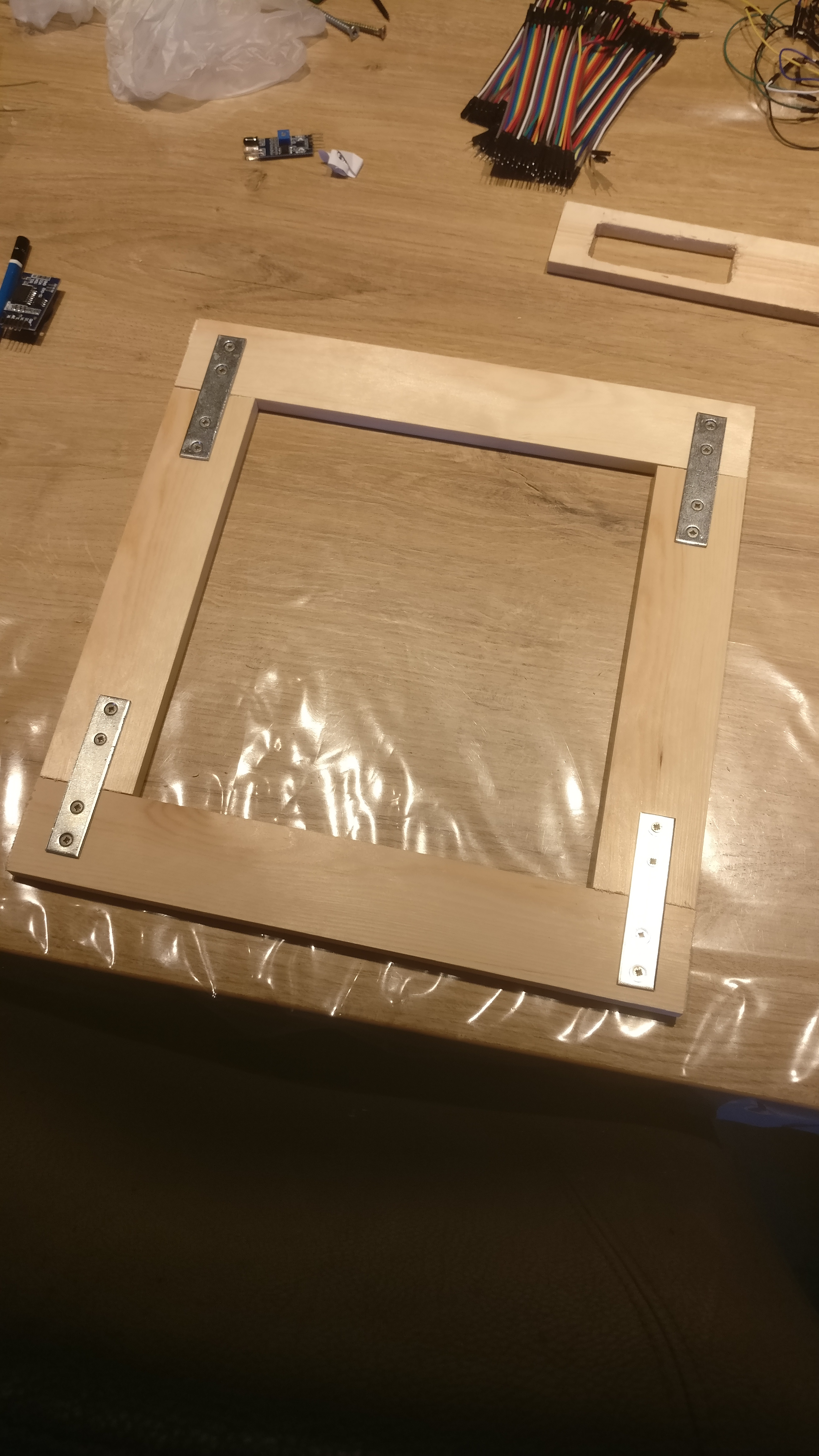 Picture of Making the Base of the Frames