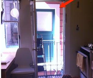 Homemade Screen Door: (Sunshine In, Flies Out)