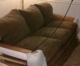 How to move a couch through a tight door: AKA how to dissassemble a couch.