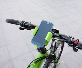 Smartphone Flexible Mount for Bike