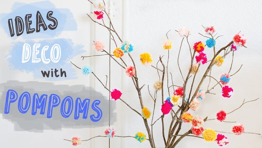 Decorate With Pompoms