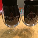How To Laser Engrave Small-Mouthed Goblets