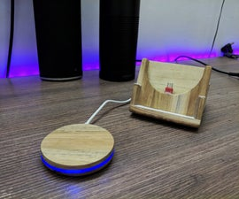 CUT THE CORD: DIY Qi WIRELESS CHARGING PAD AND STAND.