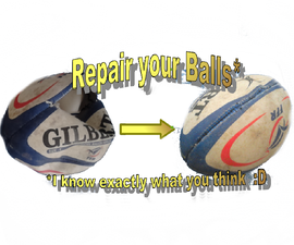 Repair a damaged ball and upgrade it to a Practice ball for training stamina and strength