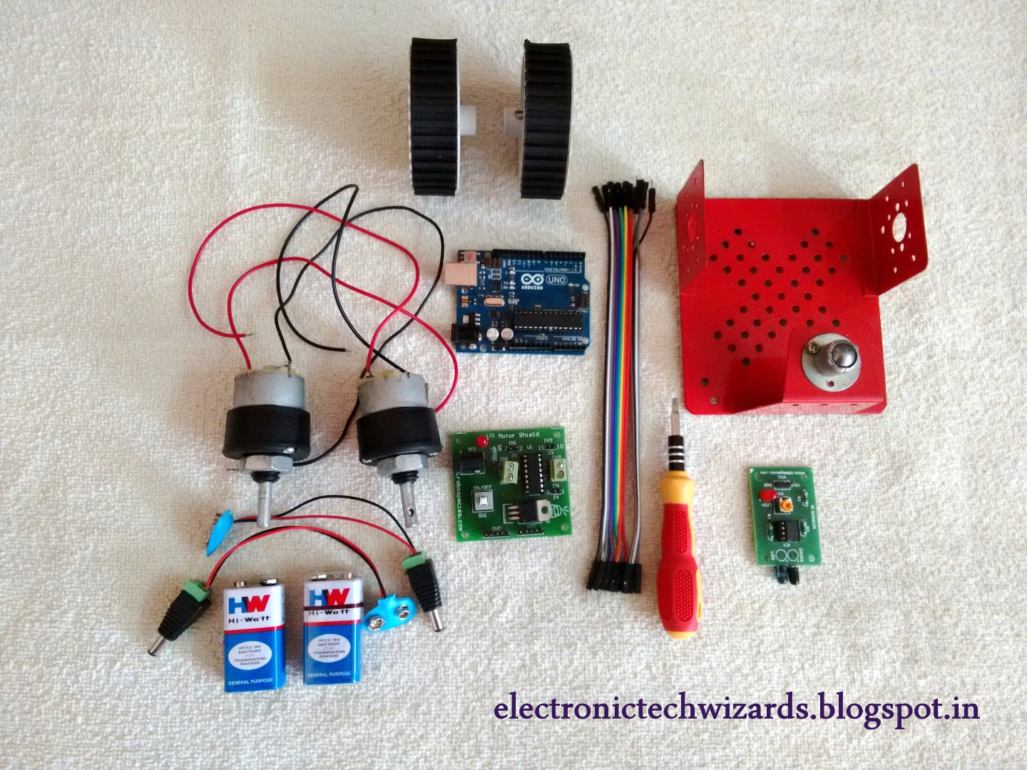 Picture of COMPONENTS NEEDED: