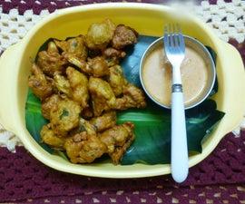 Deep-fried Cauliflower Fritters