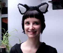 Animatronic Cat Ears