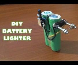 DIY    Battery Lighter   