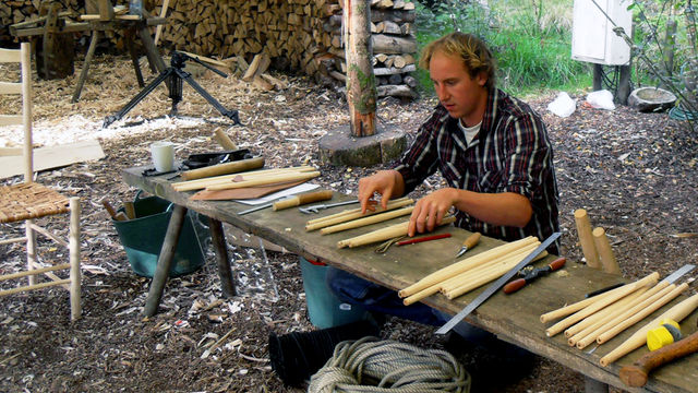 Picture of Traditional Makers coming on the BBC