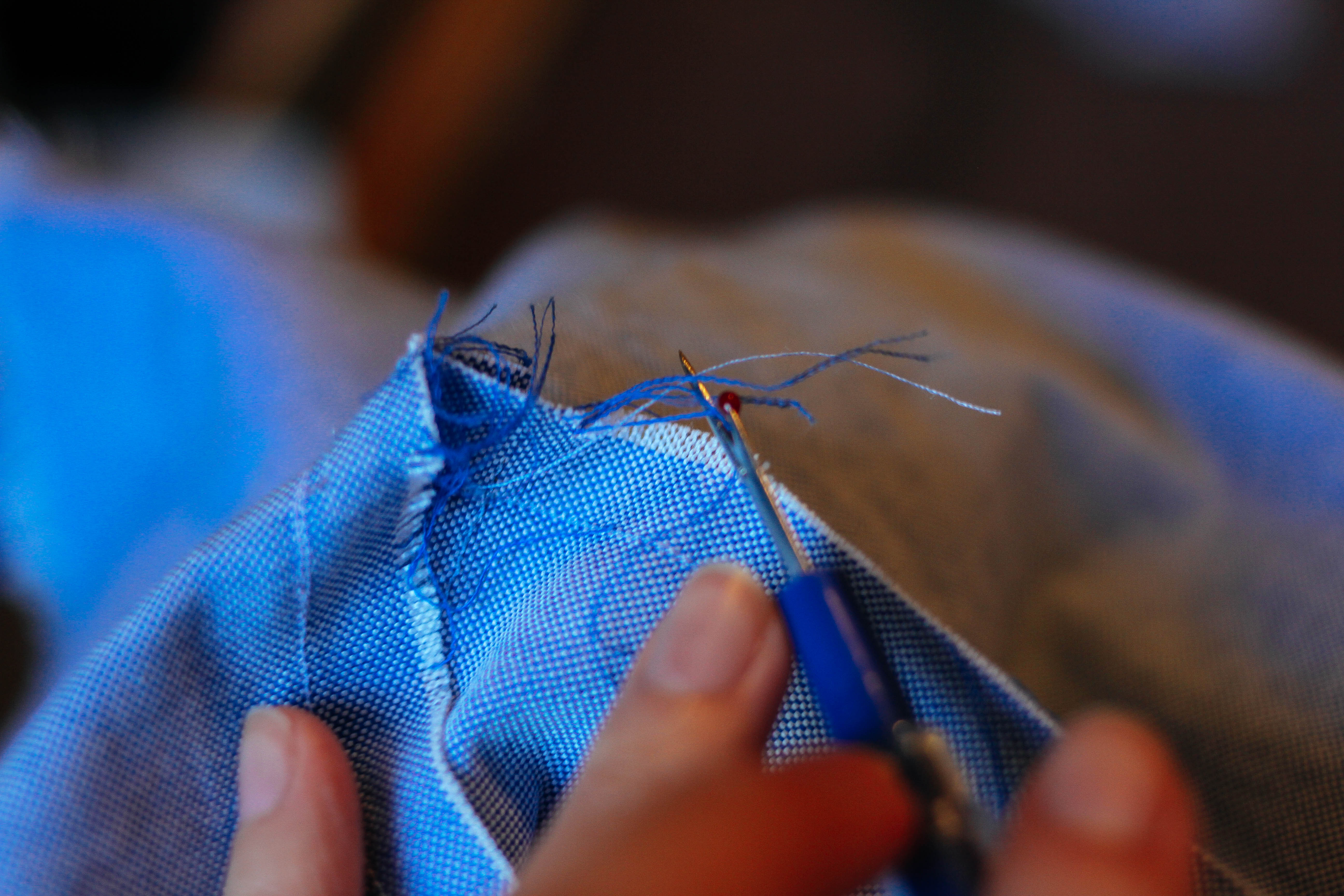 Picture of Use a Seam Ripper to Create Your Frayed Edge