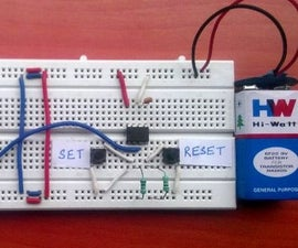 Panic Alarm Button Circuit Using 555 Timer IC (Part-1)