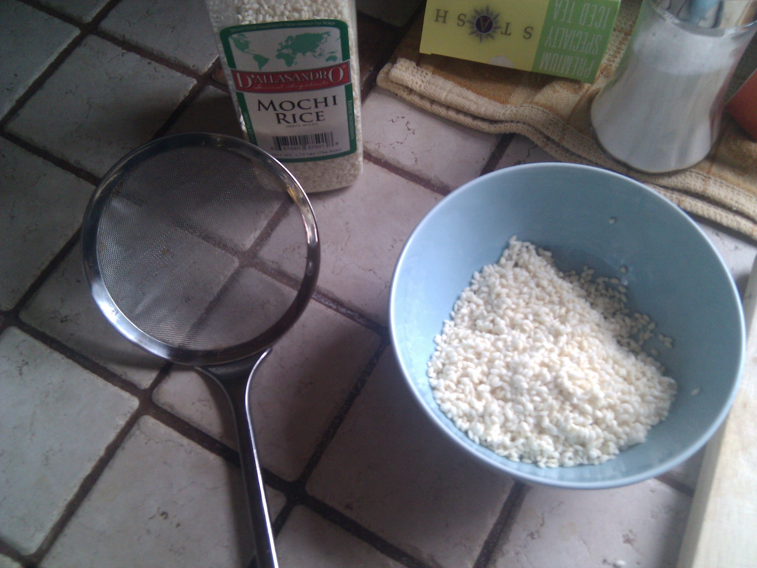 Picture of Begin Mochi Rice Making