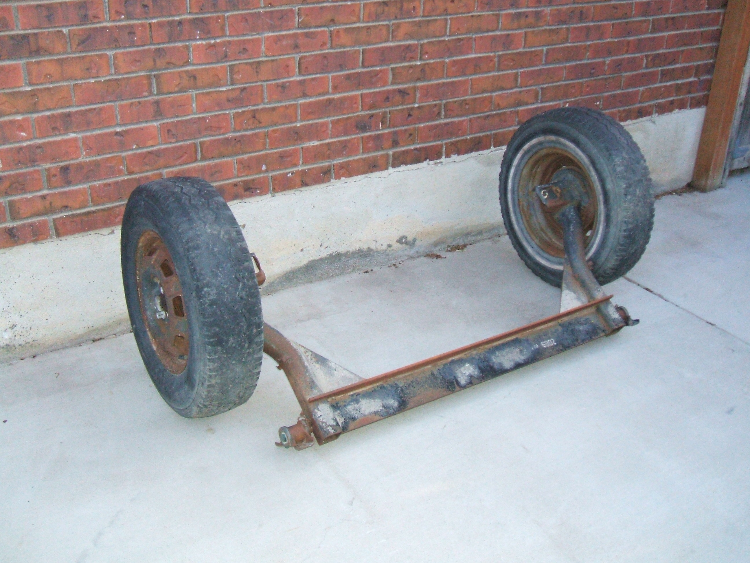 Picture of Obtain an Axle/wheel Assembly