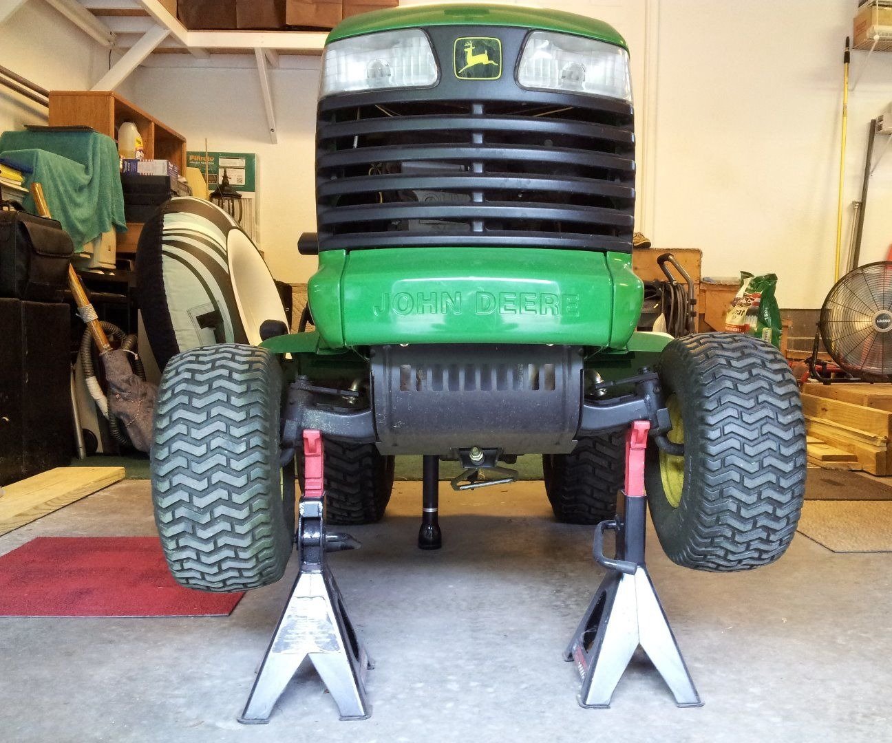 How to Change the Traction Belt on a John Deere LT155: 8 Steps