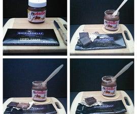 Nutella Noir Chocolate Squares