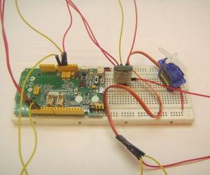 Control Servo Over Bluetooth