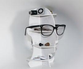 Head Shaped Mini Shelf