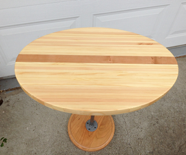 Oval Table From Crib Slats