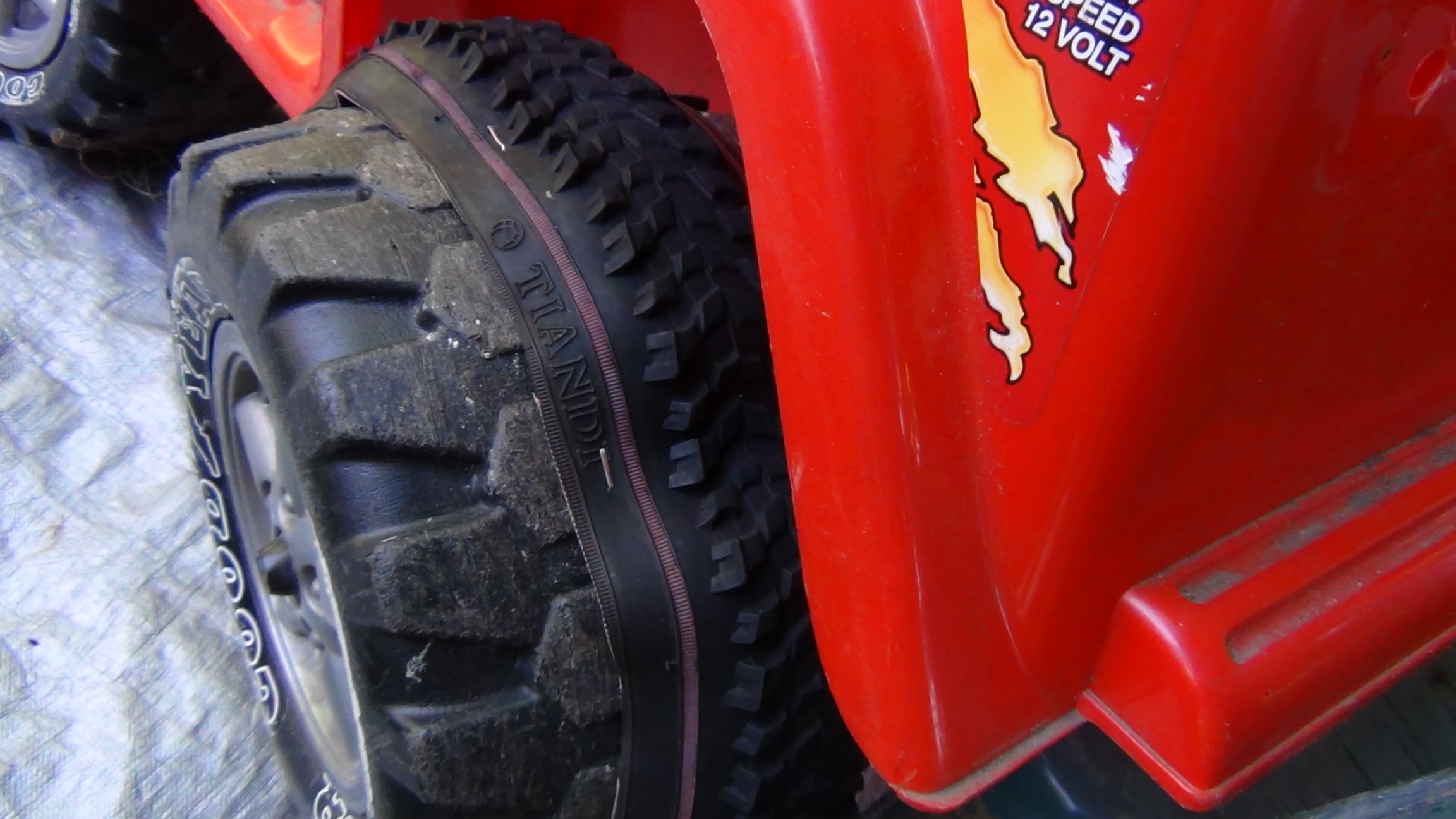 Picture of Tire Traction