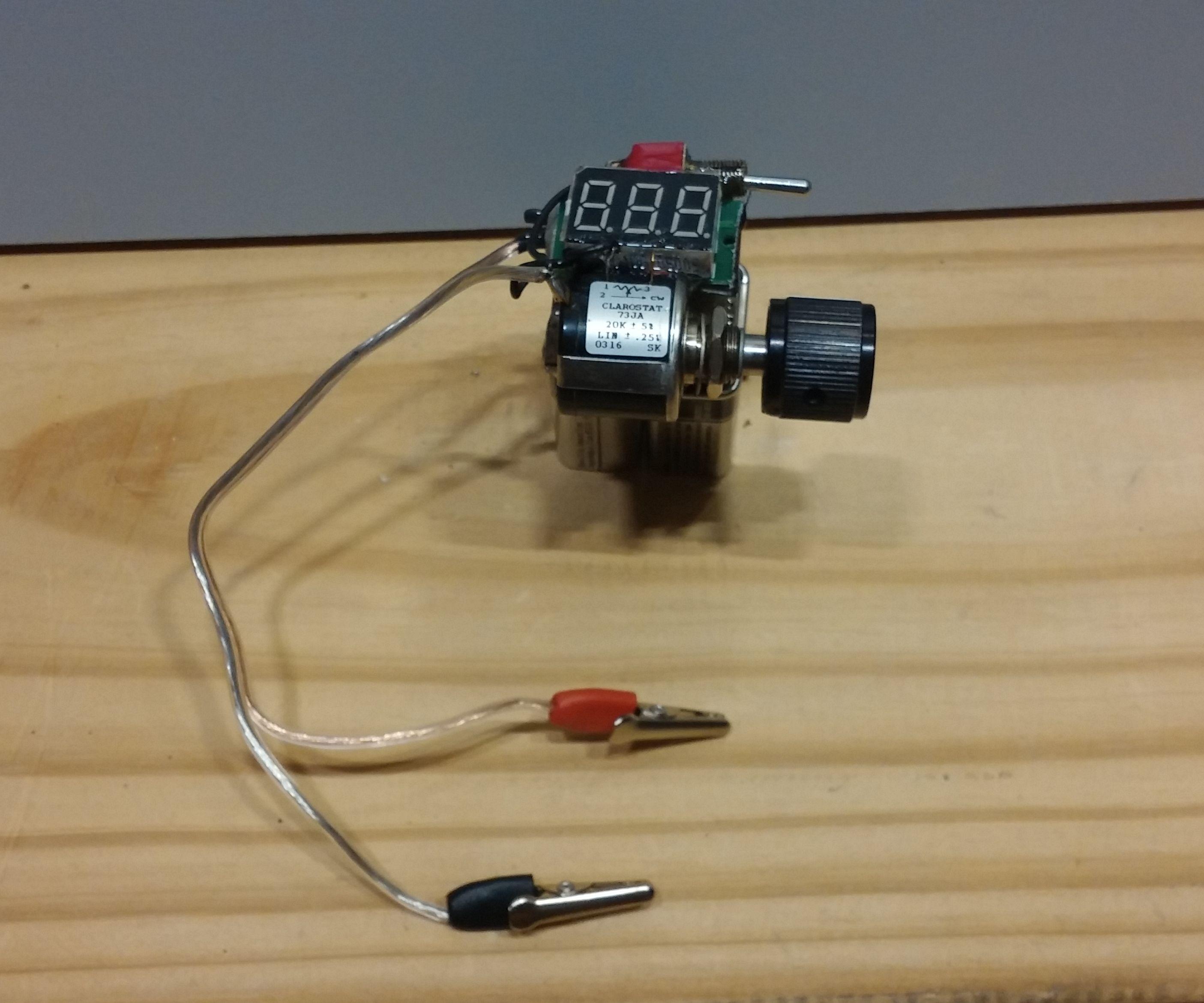 mini adjustable voltage regulator 5 steps pictures
