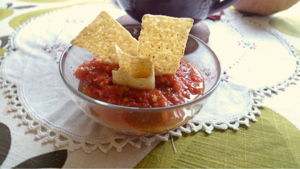Picture of The Quick, Fast, Rapid, Yummy-In-Your-Tummy Salsa
