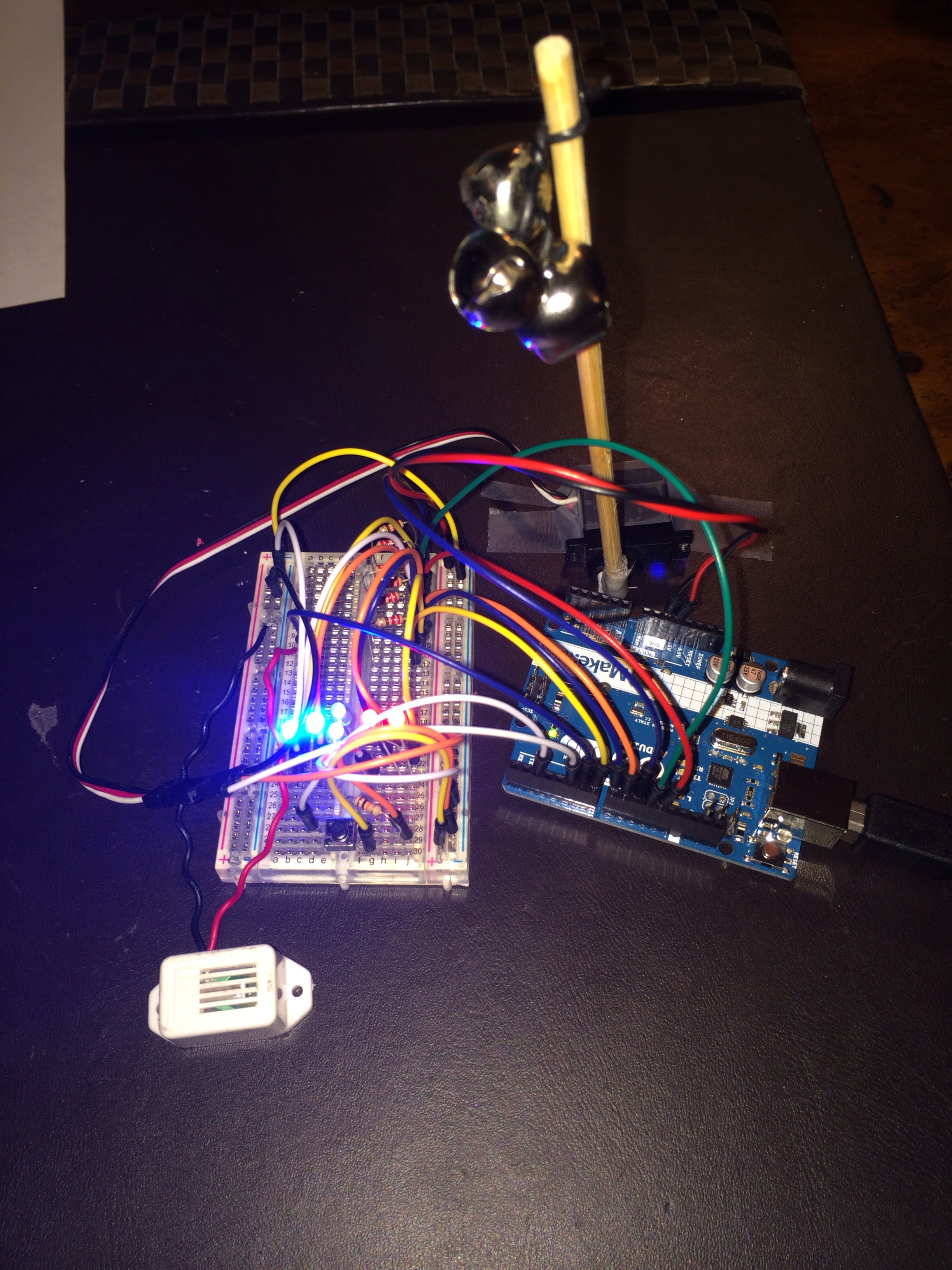 Picture of Arduino Cyclone Game