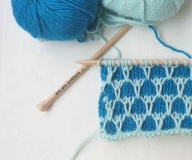 Two Color Mock Honeycomb Stitch