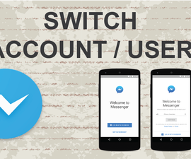 How to switch account on Facebook Messenger on Mobile App