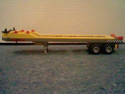 Lego City Boat Trailer and Transporter.