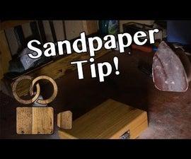 Reuse Old Sanding Pads