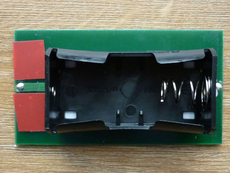 Picture of Stick the Battery Box to the Solar Cell