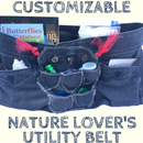 Customizable Nature Lover's Utility Belt!