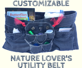 Customizable Nature Lover's Utility Belt!