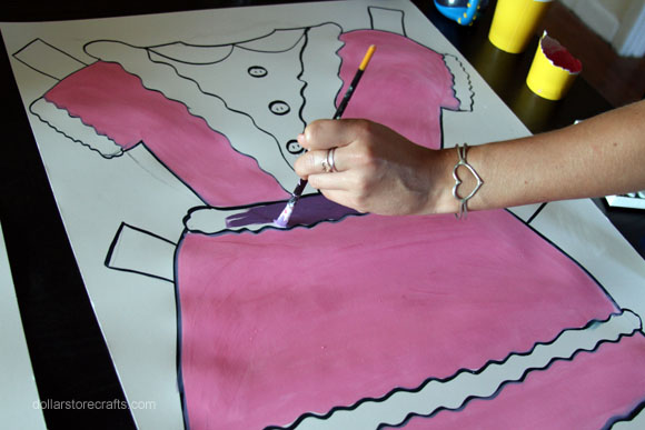 Picture of Step 2: Paint Clothing