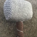 How to Knit Mjölnir - Hammer of Thor