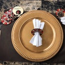 Laser Cut and Engraved Thanksgiving Napkin Rings