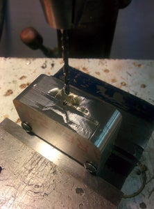 Drill Power Jack and Control Knob Holes