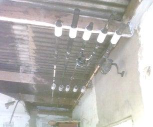 PVC ROD Rack