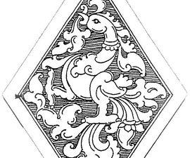 Hand made Brass pendant
