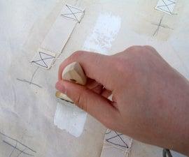 用液体乳胶涂料织物