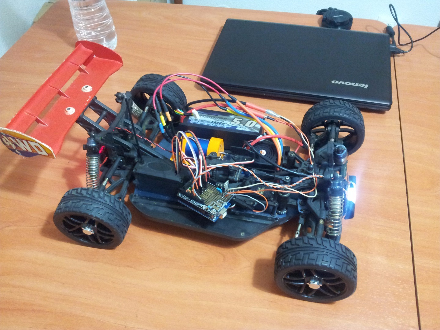 Picture of Transforming Nitro RC Car Into Electric