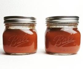 Canning Homemade Ketchup