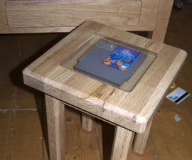 Poured Resin NES cartridge table