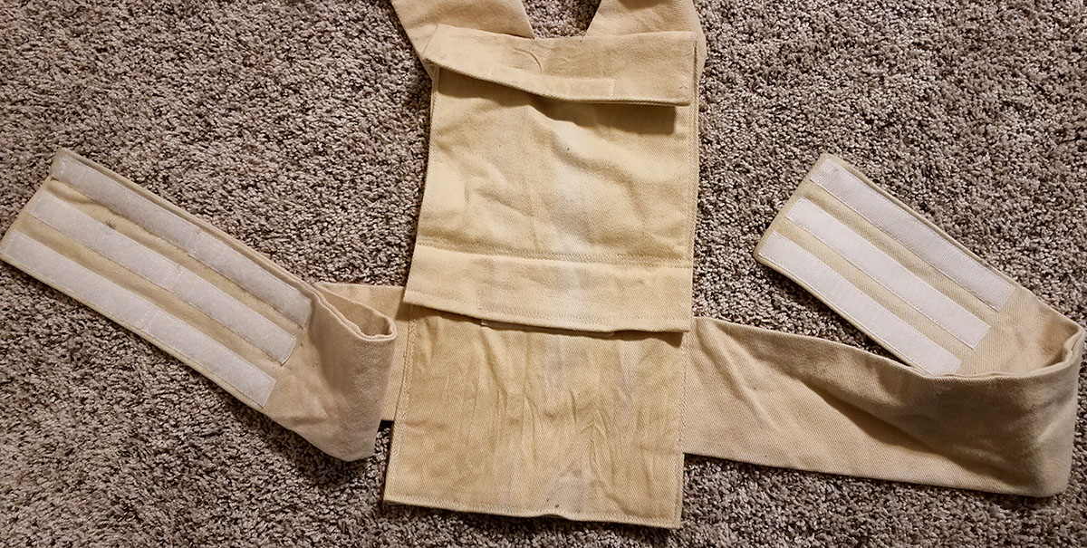 Picture of Build the Back, With Waist Bands Attached