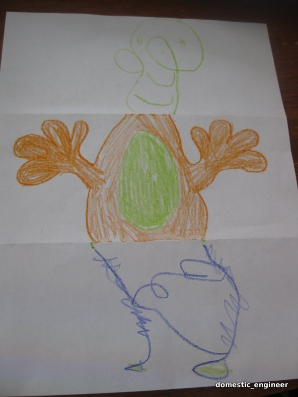 Picture of Fun Monster Drawing Game