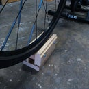 Home Trainer front wheel block